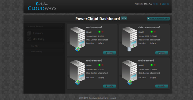 1-PowerCloudDashboard