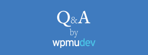 wpmudev-q-and-a