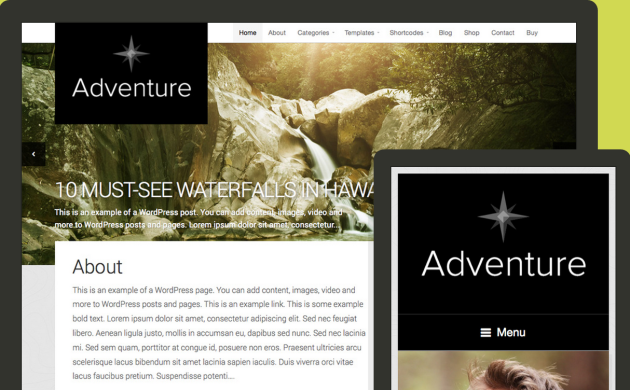 adventure-multilingual-theme