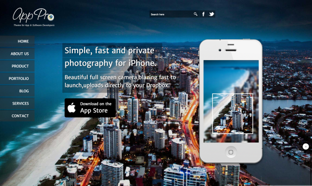 AppPro-landing-page-theme