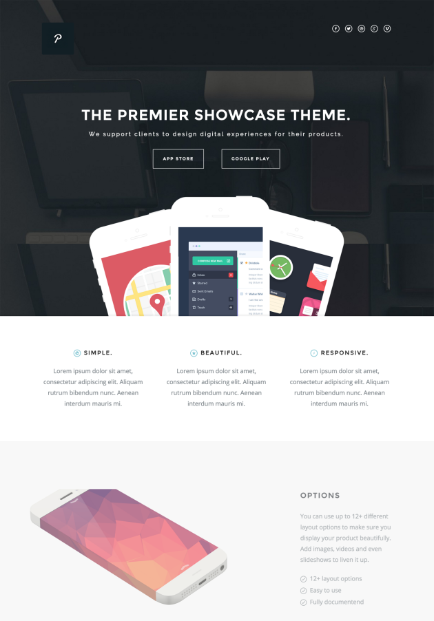 Cayse-landing-page-theme