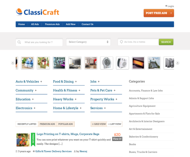 Best Classifieds Themes and Plugins for WordPress - WP Mayor