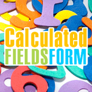 Calculated Fields Form Review