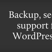 The Top WordPress Backup Plugins in 2014