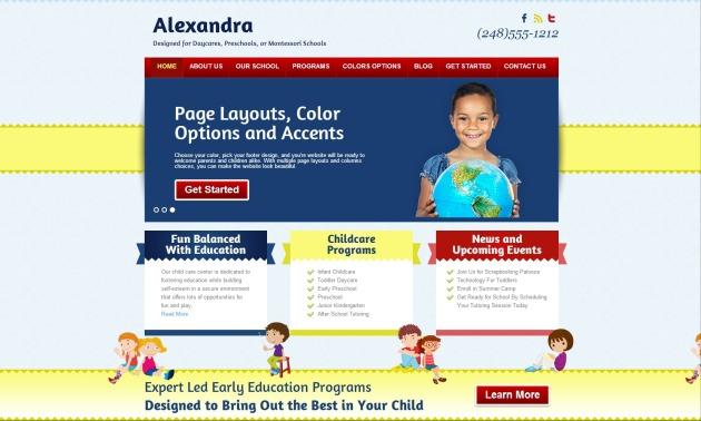 genesis-child-theme-alexandra
