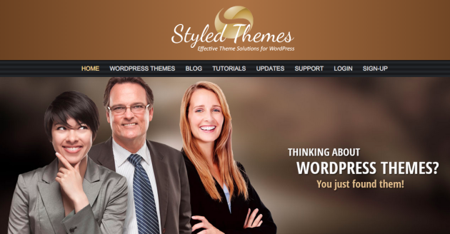 Professional WordPress Themes at Styled Themes