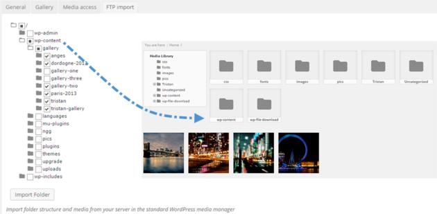 Folder Import