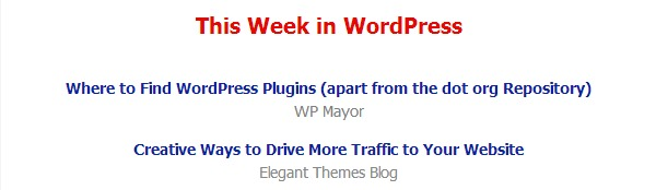 Your Weekly Dose of WordPress from WP Mayor 4