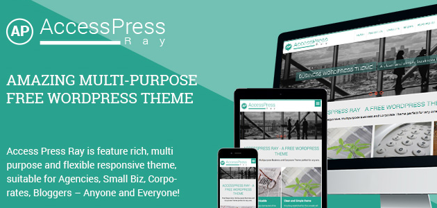 AccessPress Ray Theme