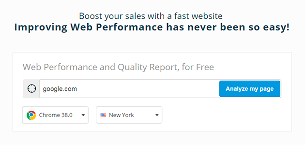 DareBoost: Web Performance and Quality Test Tool