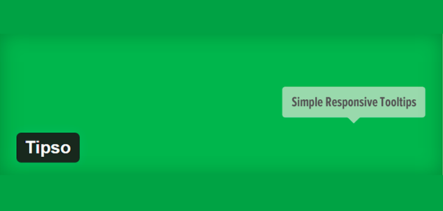 Tipso: Tooltips Plugin