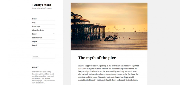 Twenty Fifteen: The New Default WordPress Theme