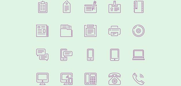 100 Stroke Icons