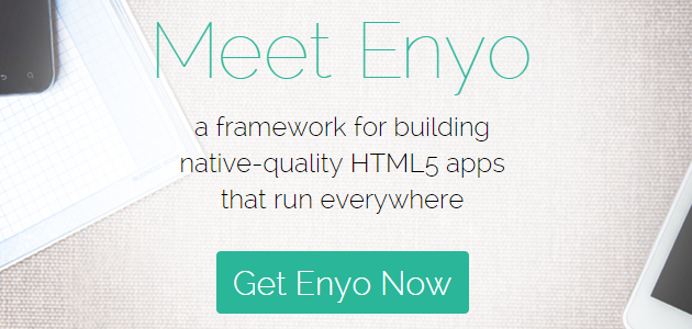 Enyo: JavaScript Application Framework Test