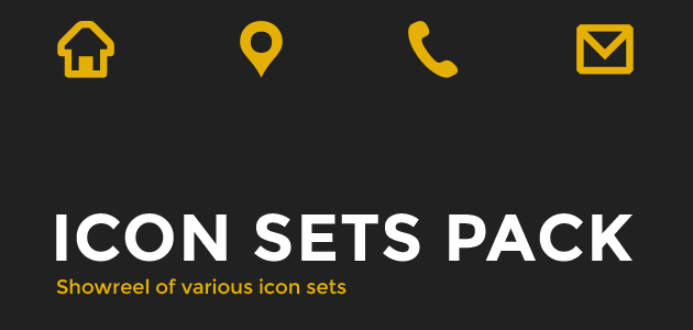 Icon Sets Pack