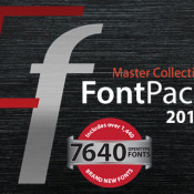 FontPack Pro Master Collection with 7,640 OpenType Fonts from InkyDeals