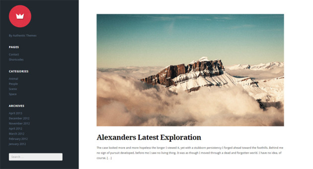 Lefty Premium WordPress Theme