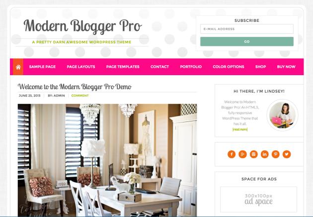 studiopress-modern-blogger-pro-theme