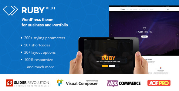 Ruby WordPress Theme