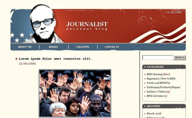 Political News WP Theme