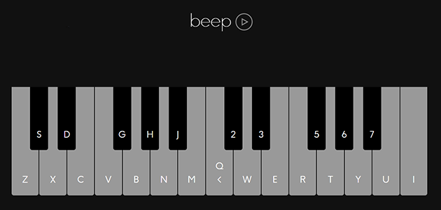 Beep.js: Build Browser-Based Synthesizers