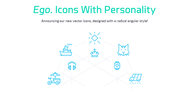 Ego: 100 Free Geometric Vector Icons