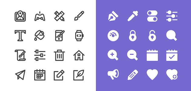 Nucleo: 50 Free Icons Pack