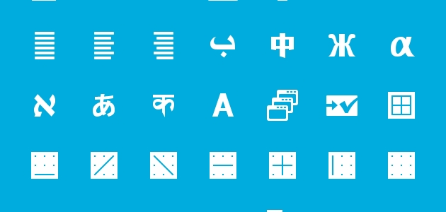 A Beautiful Different Style Icons Set for Writers