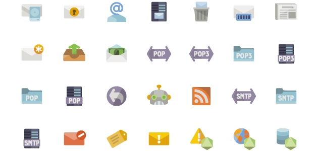 A Big Icon Pack for Website Design