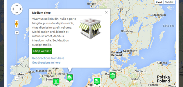 A Complete Google Maps WordPress Plugin