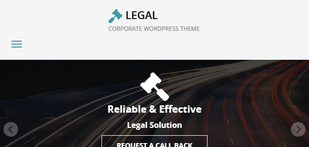 Legal: Lawyers Free WordPress Theme