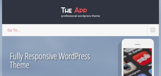 SKT The App: One Page App Showcase WordPress Theme