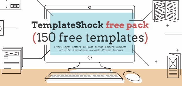 TemplateShock: Beautiful & Professional Multi-purpose Design Templates
