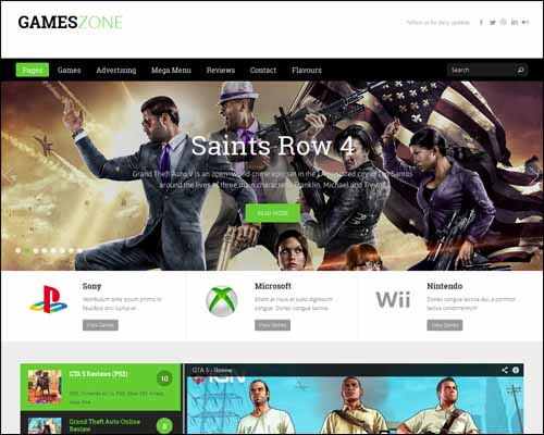 Games_Zone_WordPress_Game_Magazine_WordPress_Themes