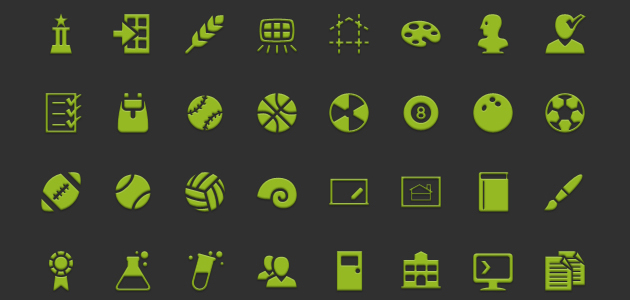 A Huge Multipurpose Set of Android Icons