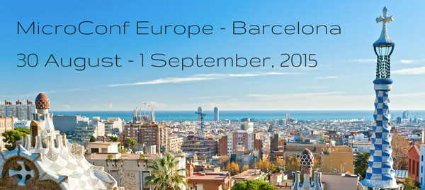 Why I'm Excited to Be Attending Microconf Europe