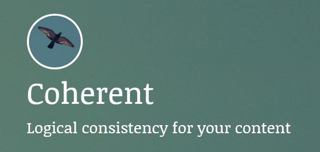 Coherent: Text-focused WordPress Theme for Blogs