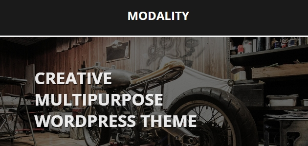 Modality: Free Startup WordPress Theme