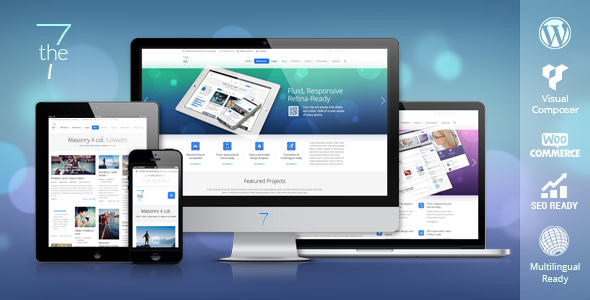 The7 – Responsive Multipurpose Theme for WordPress
