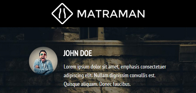 Matraman Lite: A Blogging Parallax WordPress Theme