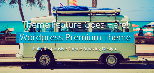 Quality Blue: Clean & Responsive WordPress Theme