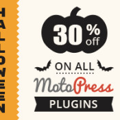 Halloween Discount Treat from MotoPress