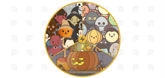 Halloween Multi Pack: Icons, Avatars, Characters and Scenarios