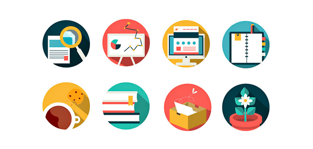 Office And Business Flat Icon Pack