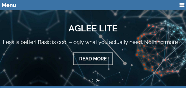 Aglee Lite: Simple & Clean Agency WordPress Theme