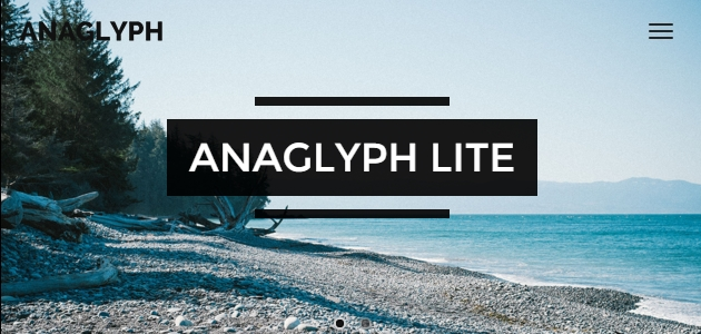 Anaglyph: Clean Multipurpose WordPress Theme