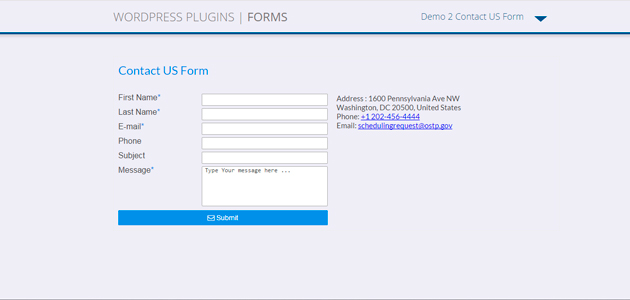 Forms: Simple Configured Form WordPress Plugin