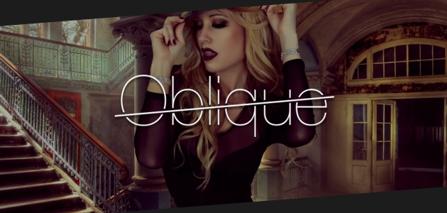 Oblique: Fashion Tilted Content WordPress Theme