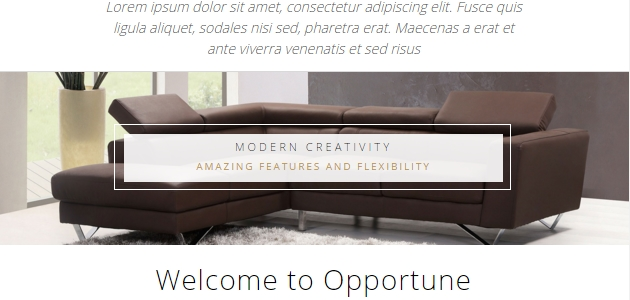 Opportune: Clean Real-State WordPress Theme