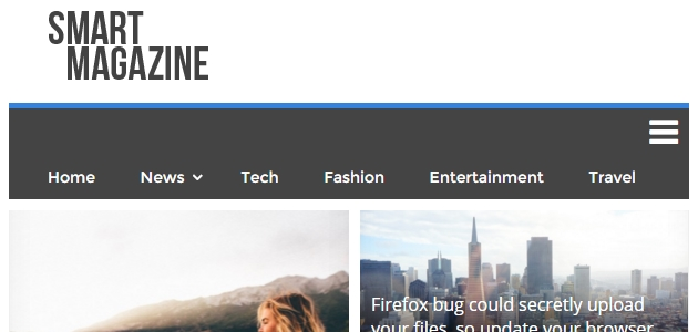 Smart Magazine: Clean News & Magazine WordPress Theme